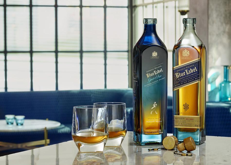 Discover exceptional rarity - Johnnie Walker Blue Label Ghost and Rare Glenury Royal (PRNewsfoto/Johnnie Walker)