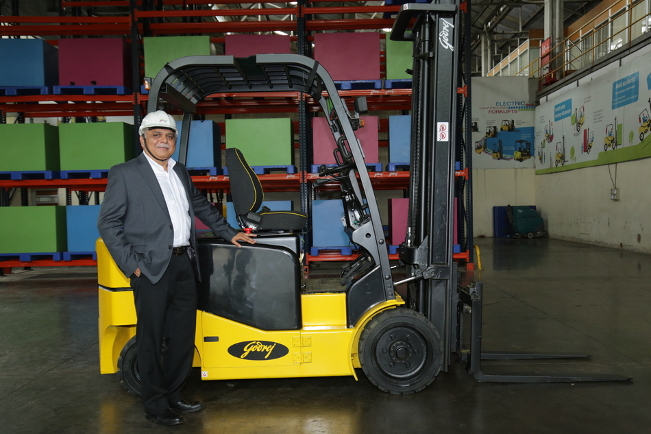 Anil Lingayat, Executive Vice President and Business Head, Godrej Material Handling