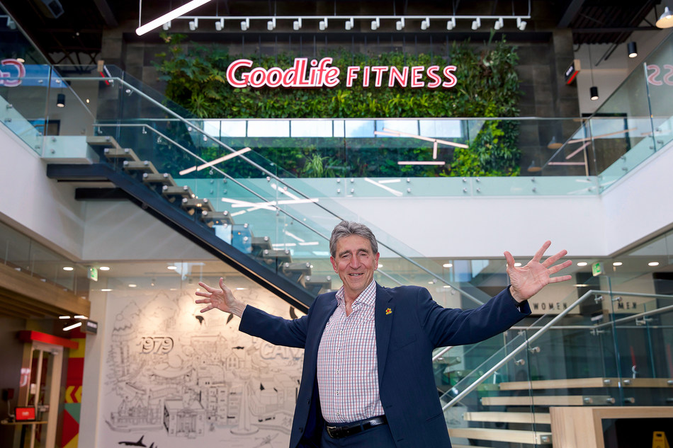 The Ontario Chamber of Commerce is proud to announce GoodLife Founder & CEO David 'Patch' Patchell-Evans as the 2019 Lifetime Achievement Award recipient at the Ontario Business Achievement Awards. (CNW Group/GoodLife Fitness)