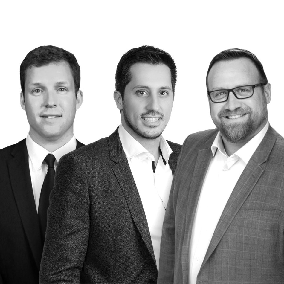 L to R: David Halliwill of PMHS Law, Jason Melo of Baker Tilly Trillium, Michael Kennedy of Ingenuity Counsel (CNW Group/Baker Tilly Canada Cooperative)