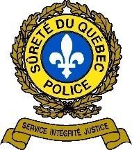 Logo : Sûreté du Québec (Groupe CNW/Société de l'assurance automobile du Québec)