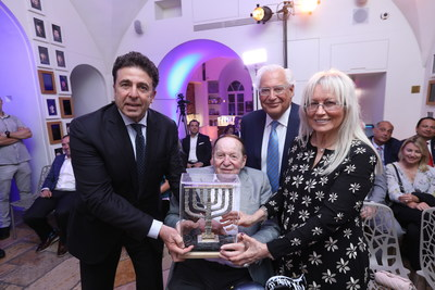 Pro-Israel Philanthropists Dr. Miriam & Sheldon Adelson Receive the Friends Of Zion Award