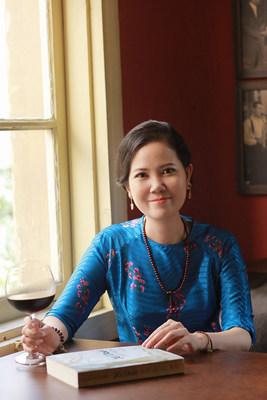 Artista Nguyen Thi Kim Duc - Una empresaria vietnamita que quiere ver un futuro verde y que logró captar la atención de los líderes mundiales sobre este asunto en el festival Vesak de las Naciones Unidas 2019 (PRNewsfoto/HTD Media)
