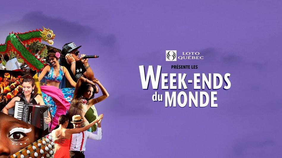 Week-ends du monde, presented by Loto-Quebec | July 6-7 / 13-14 (CNW Group/SOCIETE DU PARC JEAN-DRAPEAU)