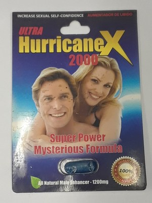 Ultra Hurricane X 2000 - Front (CNW Group/Health Canada)