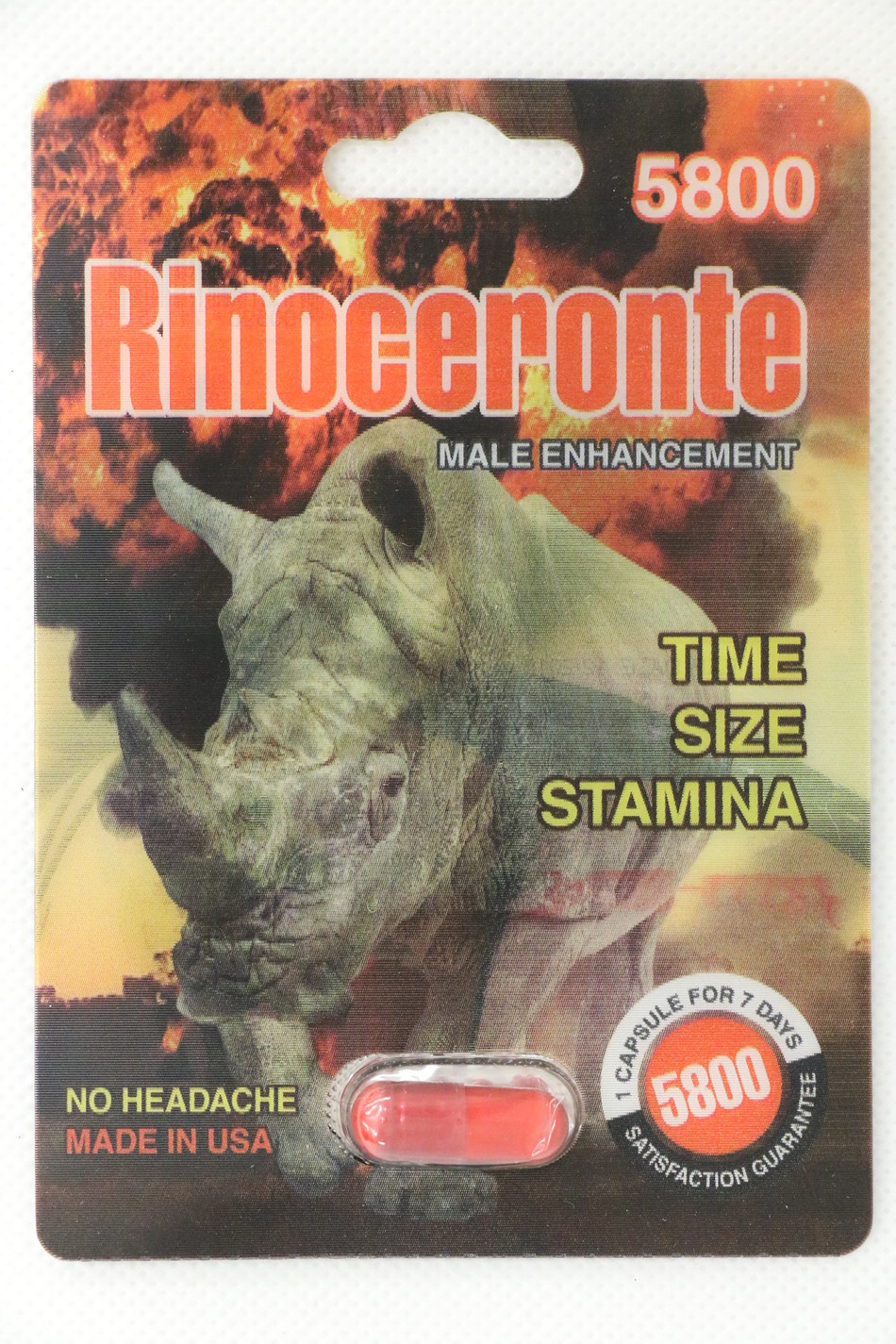 Rinoceronte 5800 (CNW Group/Health Canada)
