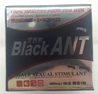 Black Ant - Front (CNW Group/Health Canada)