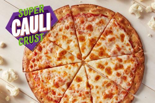 Chuck E. Cheese Super Cauli Crust Pizza