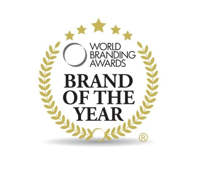 Image of award logo for the best brand