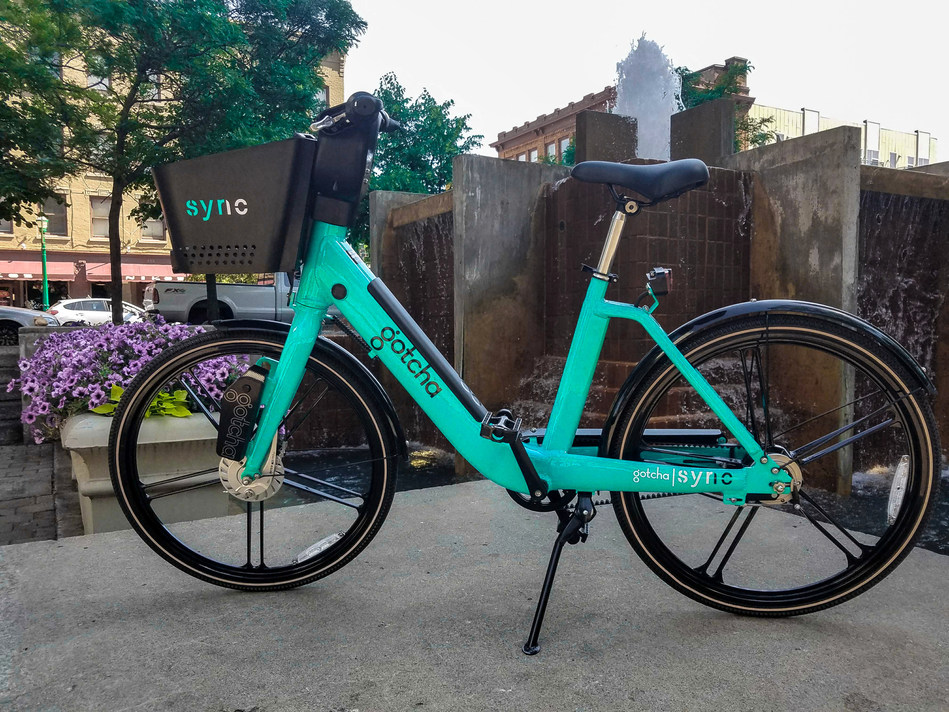 Gotcha's Syracuse Sync bike share program