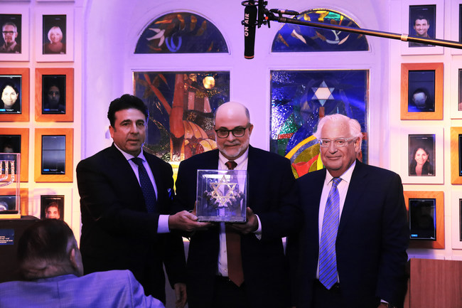 Fox News' Mark Levin Honored at the Friends of Zion Museum (Photo Credit: Yossi Zamir)