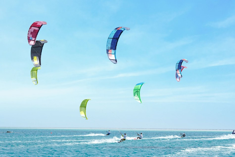 Kite Surfing Competition