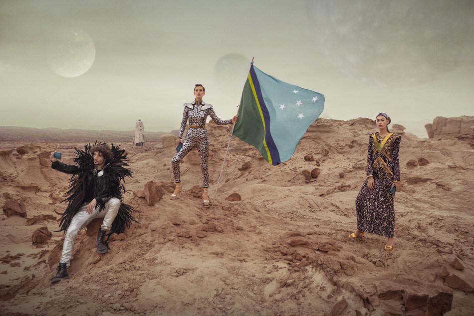 OPPO Reno landed on MARS (PRNewsfoto/OPPO Arabia)
