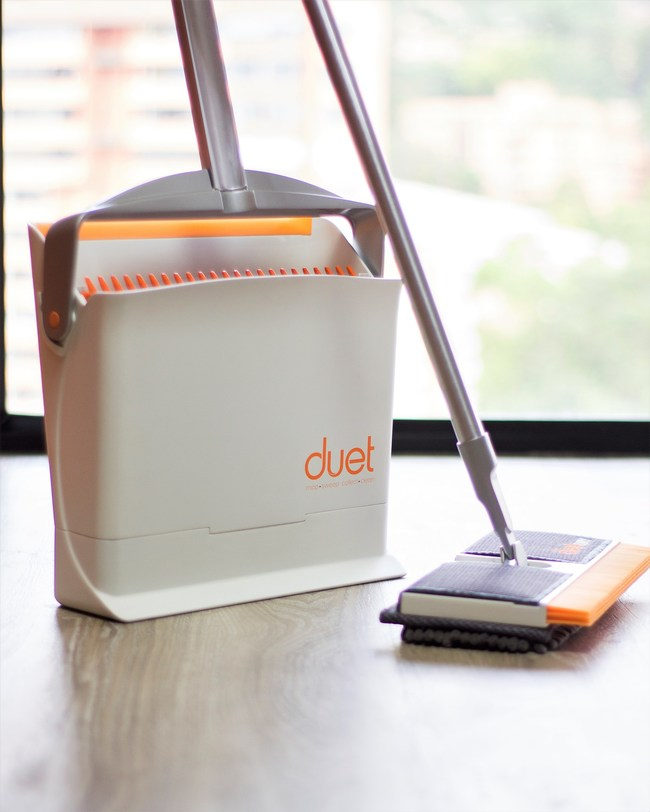 DUET Announces the Release of a New Broom/Mop & Dustpan Combo