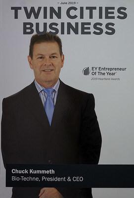 Chuck Kummeth EY Entrepreneur Of The Year 2019 Award in the Heartland
