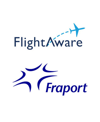 FlightAware and Fraport Logos