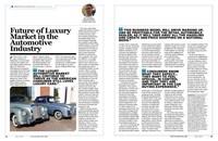 Celebrity Motor Car's CEO Tom Maoli Featured in Dealer Magazine