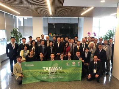 ASVDA delegation pays a visit to the Microsoft Technology Center