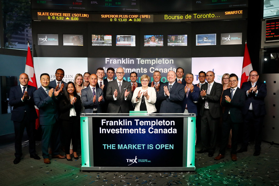 Franklin Templeton Investments Canada Opens the Market (CNW Group/TMX Group Limited)