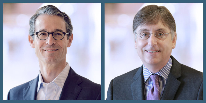 David Musto (left), currently president of Ascensus, will add CEO responsibilities to his role, effective January 1, 2020. Bob Guillocheau (right), currently chairman and CEO of Ascensus, will continue to serve as chairman.
