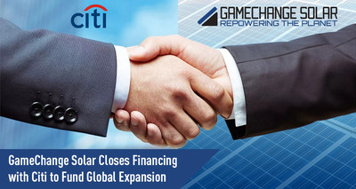 GameChange Solar Closes Financing with Citi to Fund Global Expansion