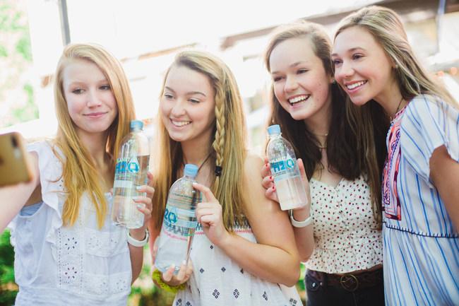 Girls enjoying Planet H2O