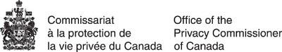 Logo : Commissariat à la protection de la vie privée du Canada (Groupe CNW/Commission d