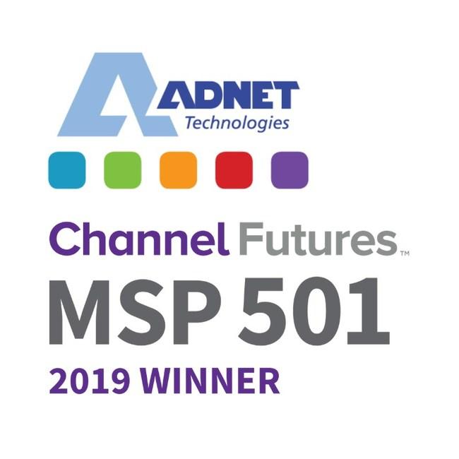 ADNET Technologies earned the no. 175 spot on the 2019 MSP 501 list of top MSPs worldwide
