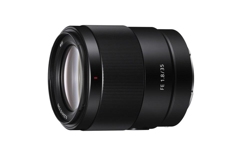 Sony FE 35mm F1.8 prime lens