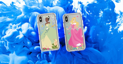 Tiana and Aurora join Mulan, Jasmine, Snow White, Ariel and Belle in the OtterBox Power of Princess collection and will be available for a limited time only through Instagram.