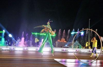 Obhur Fountain (PRNewsfoto/Jeddah Season)