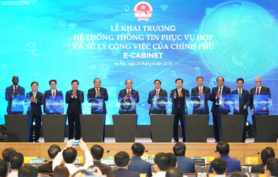 e-Cabinet Launching of Vietnam Government