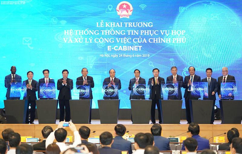 E-cabinet Lauching of Vietnam Goverment