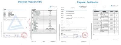 La solución Smart I-V Curve Diagnosis recibe la certificación de TUV (PRNewsfoto/Huawei)