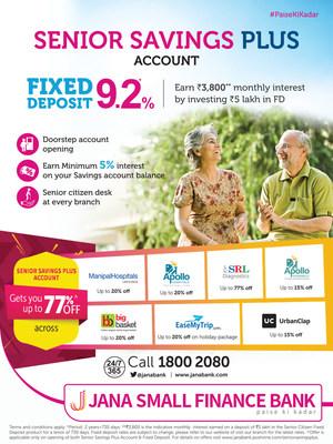 Senior Savings Plus Account