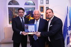 The Friends of Zion Museum Presents New Commemorative US-Israel Stamps With US Ambassadors to Europe