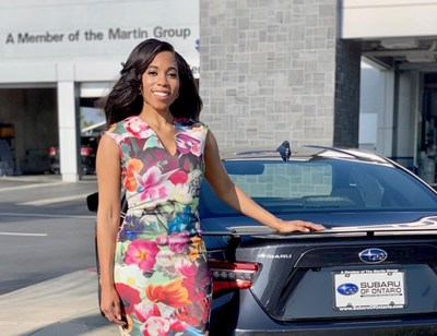 Ally Financial and the National Association of Minority Automobile Dealers (NAMAD) have named Amber L. Martin of the Martin Management Group in Bowling Green, Ky. the second-ever recipient of the Ally Sees Her Award in recognition of her dedication to giving back to her community and her leadership in promoting the next generation of minority dealers.