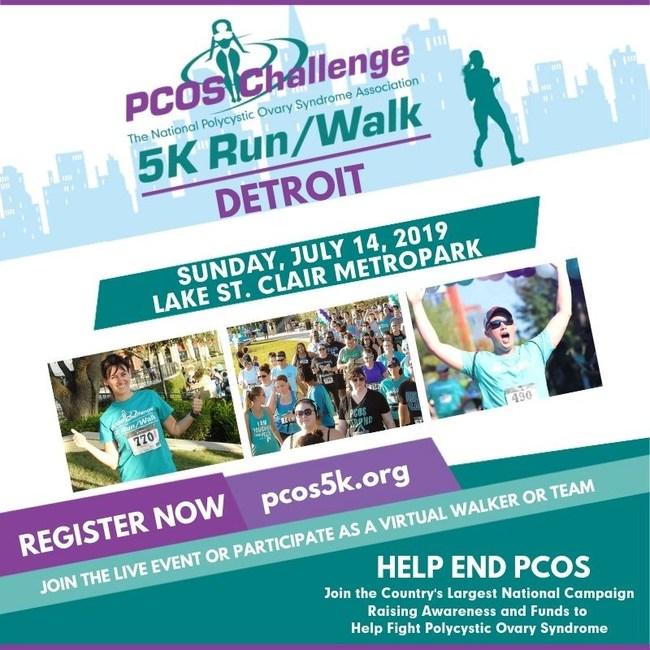 Detroit PCOS Challenge 5K Run/Walk