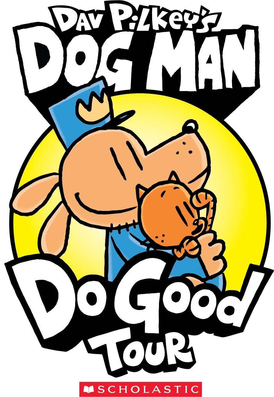 "Inspired by the characters and themes in the worldwide bestselling Dog Man series by Dav Pilkey, ""Do Good"" is a campaign to encourage readers of all ages to give back and make a positive impact in their communities. Highlights from the ""Do Good"" initiative include a global book tour featuring events with a charitable component in multiple cities across the U.S. and around the world."