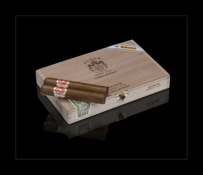 Punch Short de Punch box and habanos (PRNewsfoto/HABANOS SA)