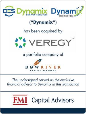 FMI Advises Dynamix on Sale to Veregy
