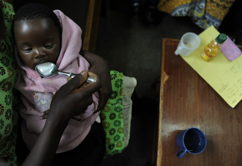 More than 60 percent of childhood diarrheal deaths could be prevented with co-packaged oral rehydration salts and zinc sulfate, alongside other community interventions. (PRNewsfoto/PATH)