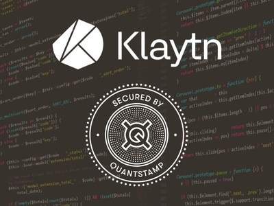 Quantstamp a Y Combinator-backed blockchain security company, has completed its audit of smart contracts for Klaytn, the blockchain platform created by Kakao. Built by GroundX, a Kakao subsidiary. (PRNewsfoto/Quantstamp)