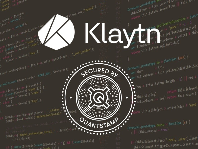 Quantstamp a Y Combinator-backed blockchain security company, has completed its audit of smart contracts for Klaytn, the blockchain platform created by Kakao. Built by GroundX, a Kakao subsidiary.