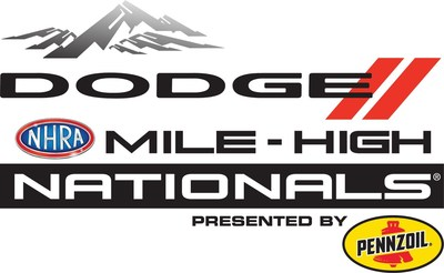The Dodge Mile-High NHRA Nationals Presented by Pennzoil, the longest continuous running sponsorship in NHRA and one of the longest in all of motorsports, is rumbling back to Bandimere Speedway near Denver on July 19-21. The 2019 edition marks the 31st year of FCA US event sponsorship, a partnership that spans four decades.
