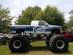 A Twelve Foot Tall Monster Truck + Friday Night Racing = LeithCars.com Night at Wake County Speedway