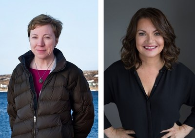 Left: Zita Cobb, Founder & CEO, Shorefast Foundation and the 2019 Recipient of the Samuel Cunard Prize for Vision, Courage and Creativity. Right: Sandra Greer, Former President & CEO, Amirix Systems Inc. and the 2019 Recipient of the Samuel Cunard Innovative Spirit Award