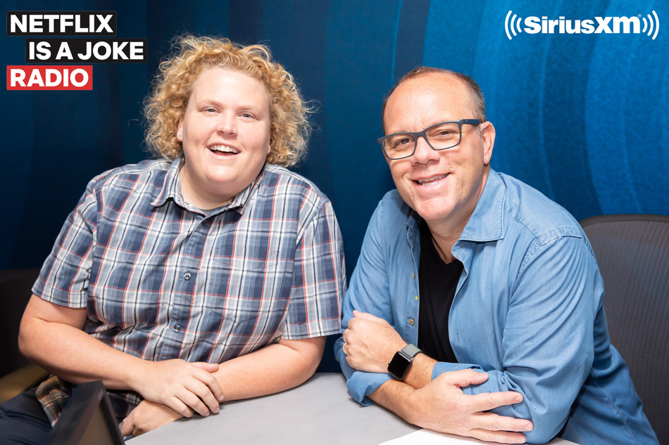 Tom Papa and Fortune Feimster to co-host new show on SiriusXM's Netflix Is A Joke Radio channel. Photo credit: Jason Shaltz (PRNewsfoto/Sirius XM Holdings Inc.)