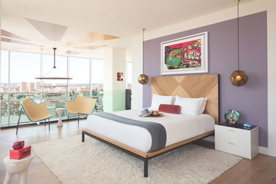 Hotel Indigo celebrates its 100th property with the launch of a shoppable hotel room that allows anyone to buy direct from the best artists and craftspeople from around the world, in one place, on social media.