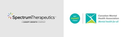 Spectrum Therapeutics partners with Canadian Mental Health Association's Not Myself Today® initiative (CNW Group/Spectrum Therapeutics)